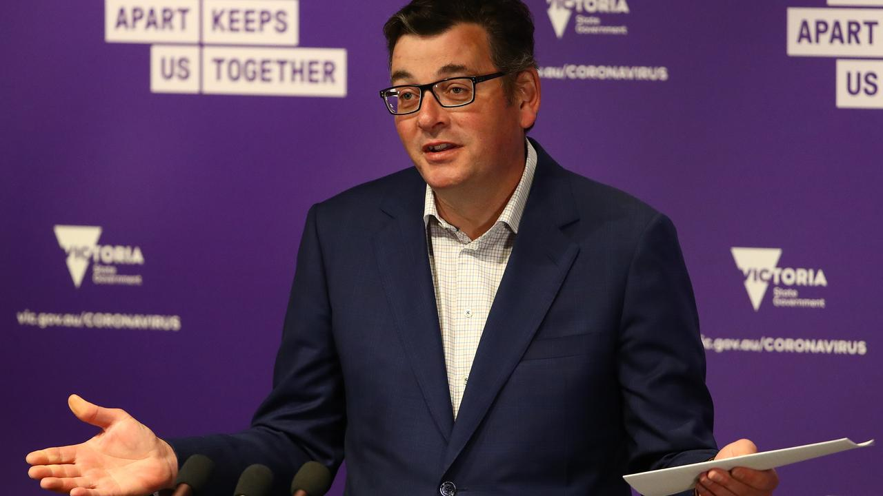 Victorian Premier Daniel Andrews will provide evidence next week. Picture: Robert Cianflone/Getty Images