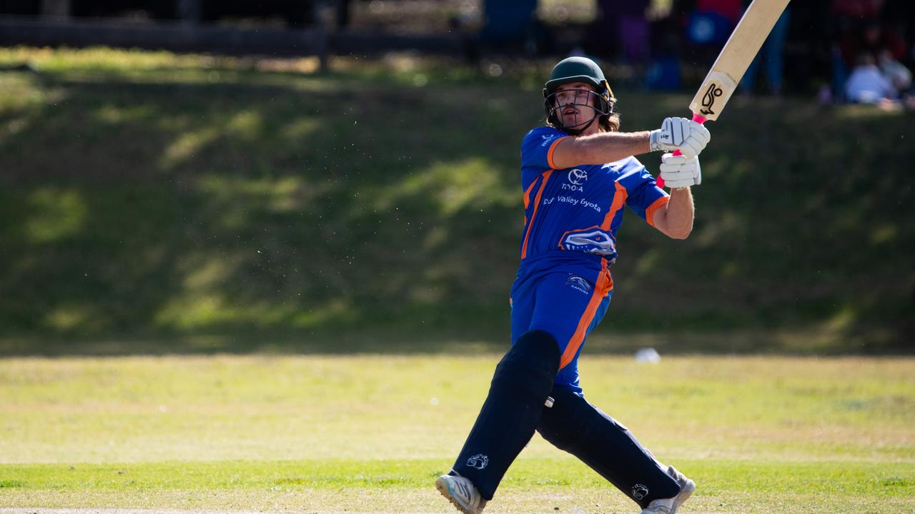Valley Raptors in the opening round of the Darling Downs Bush Bash League. PHOTO: BIG SHOT PHOTOGRAPHY