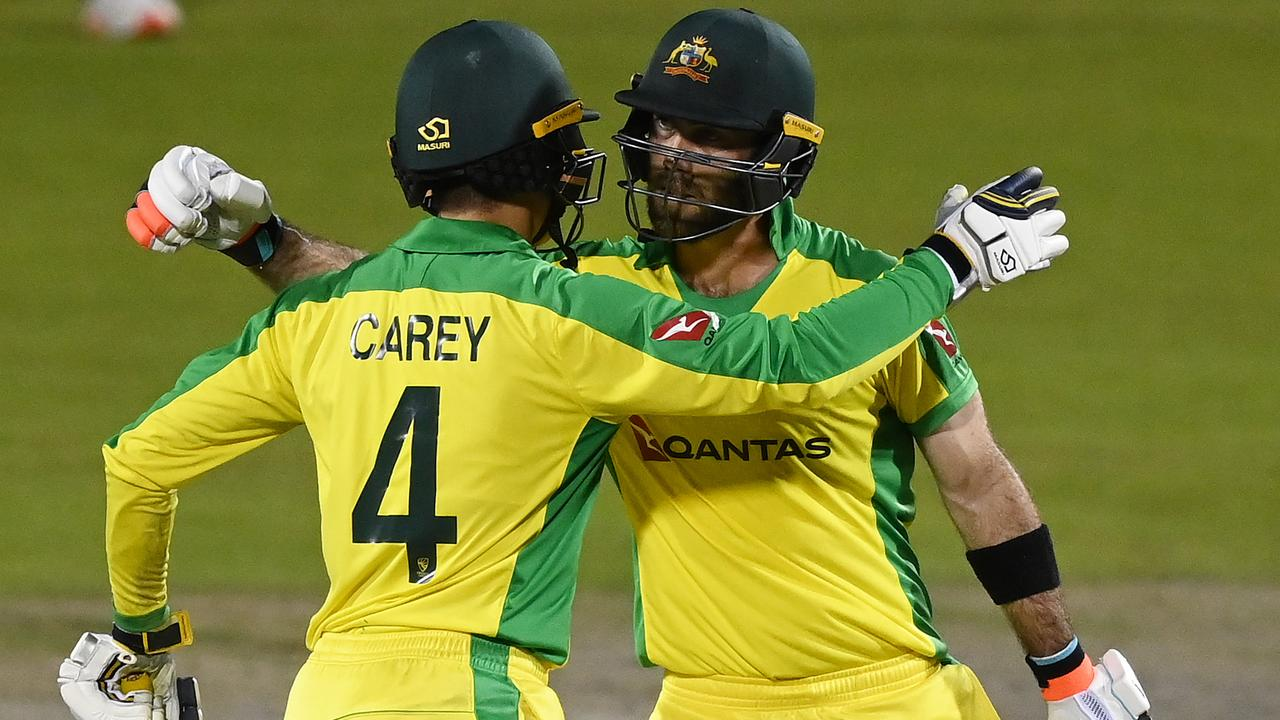 Needing 303 for victory, Australia looked down and out at 5-73. Enter Glenn Maxwell and Alex Carey to make history. Catch up on their stunning exploits.