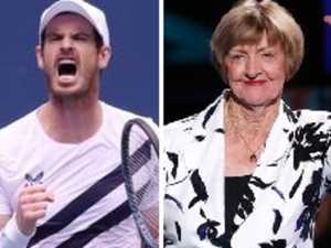 Tennis stars won't leave Court alone