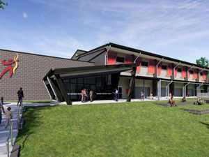 Ready, set, go on Sarina High's $12m multipurpose hall