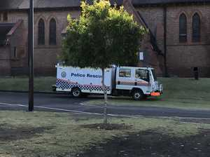 Fire at Lismore cathedral