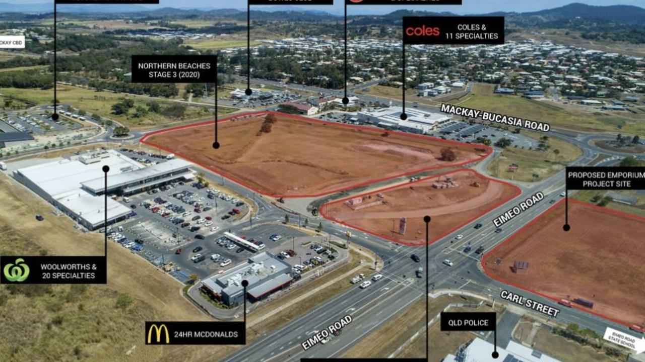 A timeline for the completion of the multimillion-dollar Northern Beaches Emporium development has been set after Mackay Regional Council approved a $114,612 infrastructure concession.
