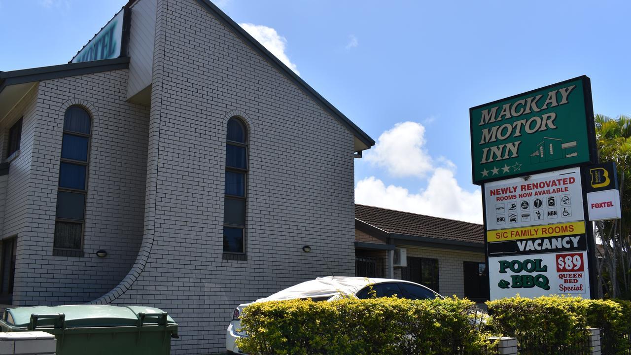 Mackay Motor Inn on Nebo Rd, Mackay. Picture: Heidi Petith