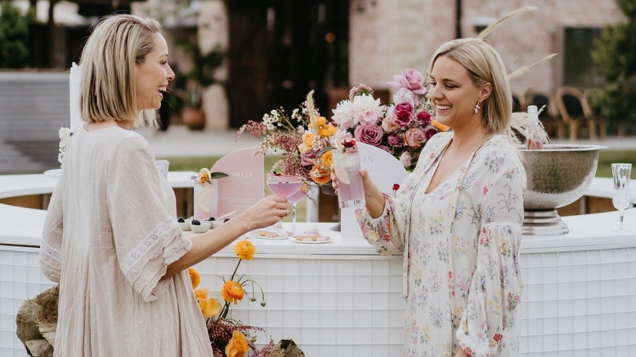 Aisle Wedding Market founders Judi Watts and Kristy Mason created an online platform to revitalise the wedding industry
