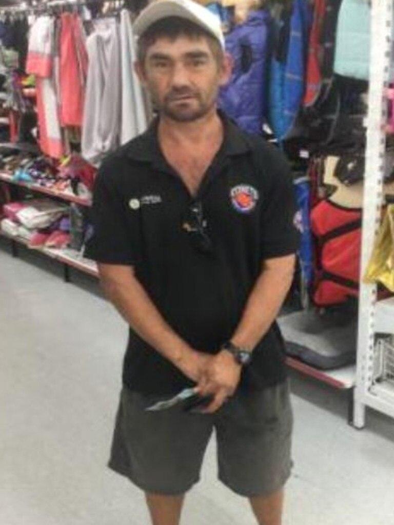 Peter Shane Foreman is missing, last seen at Rockhampton Hospital on September 18.