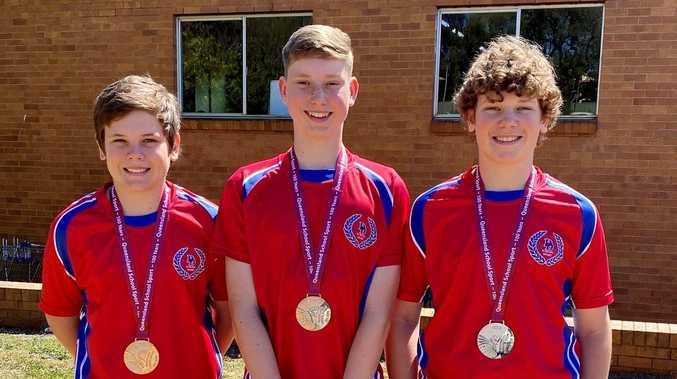 Chinchilla trio smashed Squash State Championships