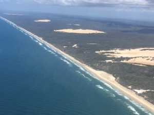 Search continues for lady missing on Fraser Island