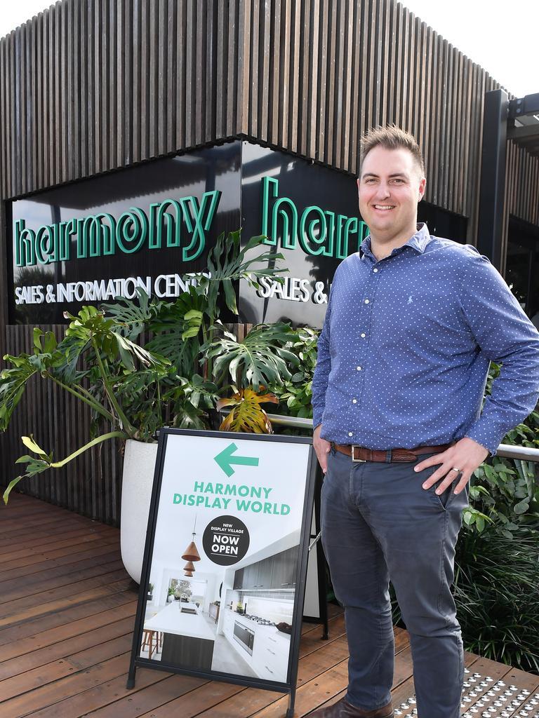 Harmony Development Manager Anthony Demiris. Photo: Patrick Woods