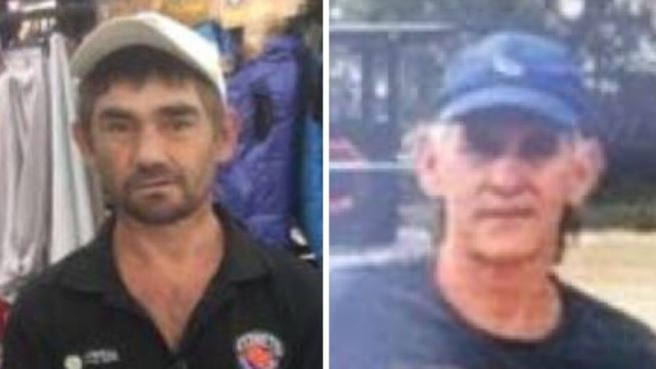 (L-R) Peter Shane Foreman and Alan John Muir are missing.