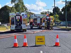 BREAKING: House fire closes Chinchilla Street