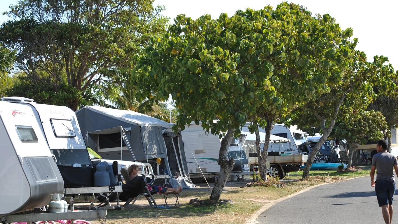 Prime sites at caravan parks like Cotton Tree Caravan Park are booked up well in advance in holiday periods. Photo: Iain Curry / Sunshine Coast Daily