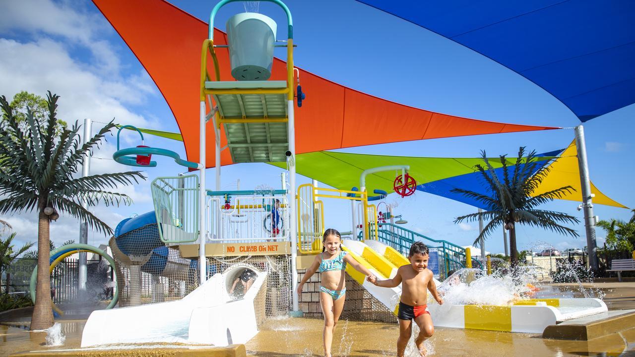 The Proserpine Swimming Pool water park. Photo: Tourism Whistundays