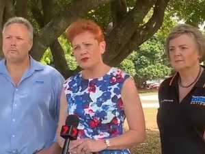 Pauline Hanson unveils crime policy