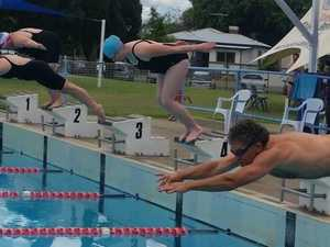 Swimmers come out of hibernation as weather turns