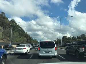 10km traffic jam ahead of school holidays
