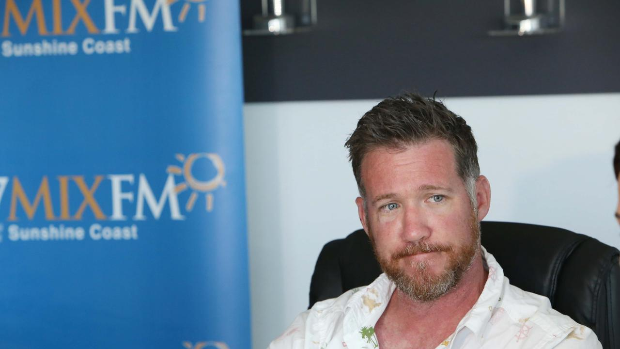 It's to beer or not to beer for MIXFM identity Todd Widdincombe. Picture: Nicola Brander / Sunshine Coast Daily