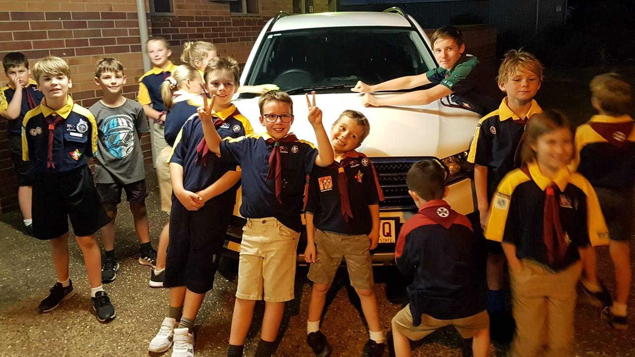 SOAP AND SUDS: Moore Park Beach Scouts are offering to wash cars for an affordable price.