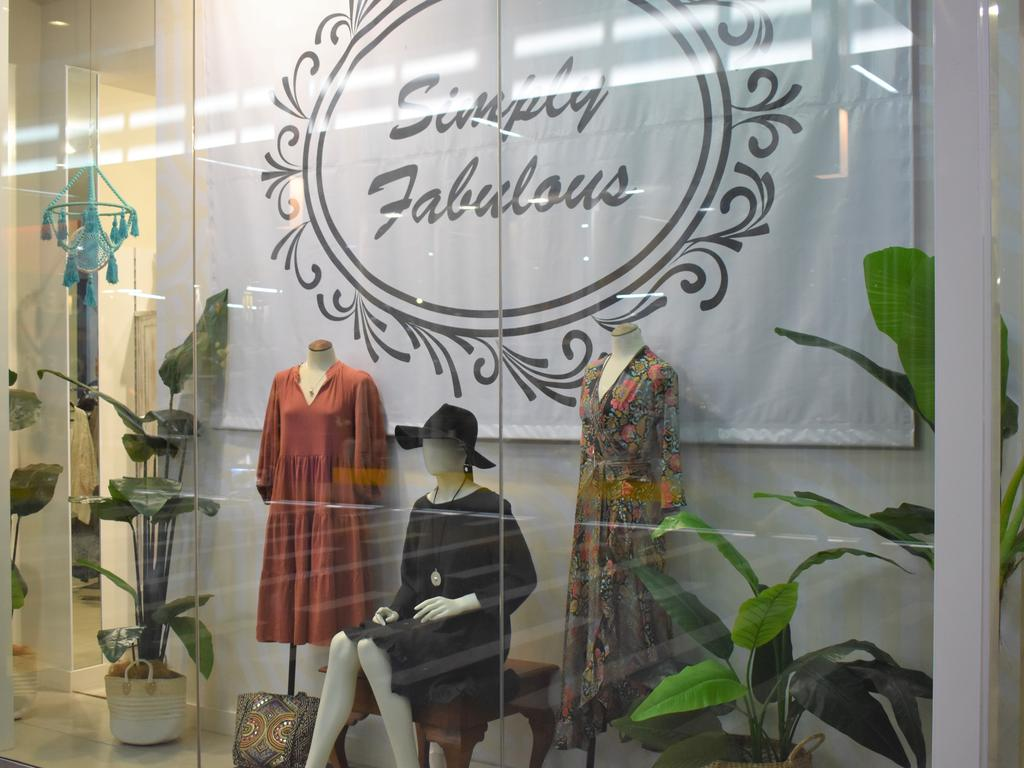 The new boho-inspired store at Caneland Central, Simply Fabulous. Picture: Heidi Petith
