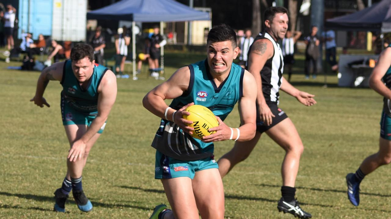 Coffs Harbour Breakers are gunning for a spot in the finals while the Port Macquarie Magpies season is all but over. Photo: Brad Greenshields/Green Shoots Marketing