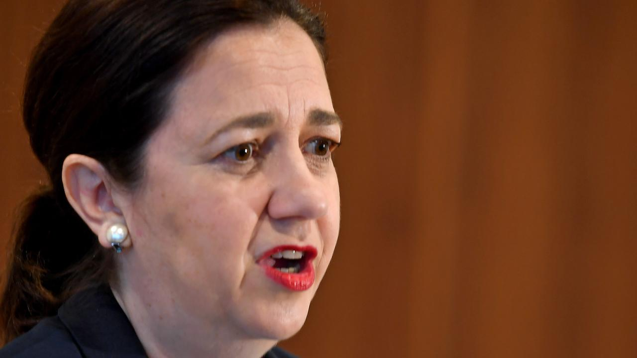 Secret polling has revealed Annastacia Palaszczuk may not be telling the whole truth about borders, writes Des Houghton.