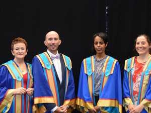 WATCH HERE: CQUni graduation was livestreamed today