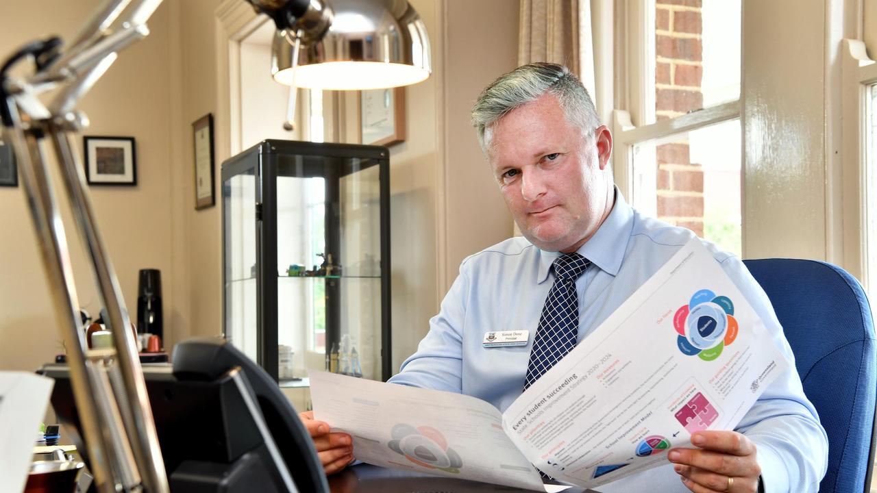 Maryborough State High School principal Simon Done. Photo: Alistair Brightman/ File