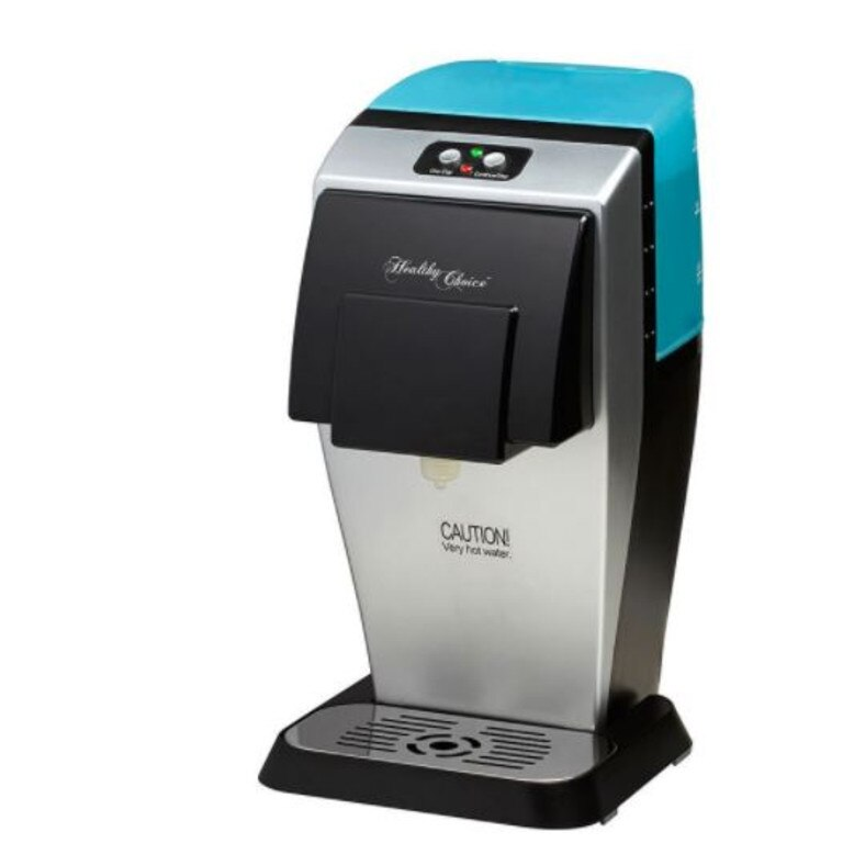 Costing $87 the gadget dispenses hot water in just eight seconds.