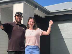 Excited new owners first to move into Coast's estate
