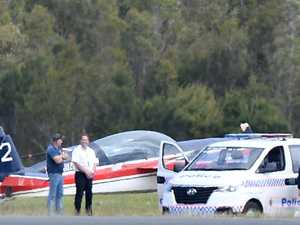 Stunt plane, helicopter crash on Coast runway