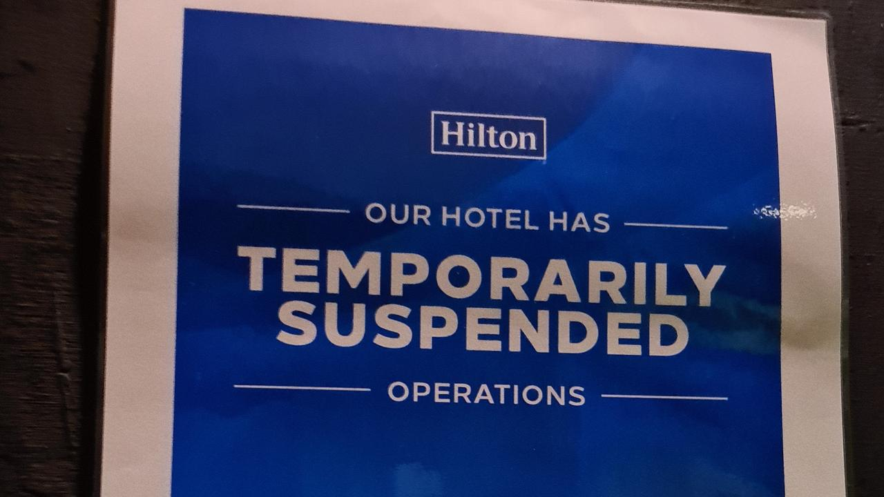 DoubleTree by Hilton Cairns temporarily suspended hotel operations as a result of the COVID-19.