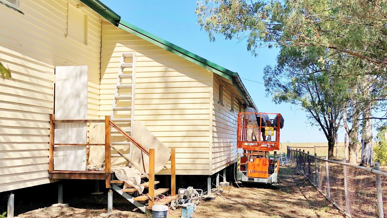NEW LOOK: A series of community halls across the Western Downs are being revamped. Pic: Supplied