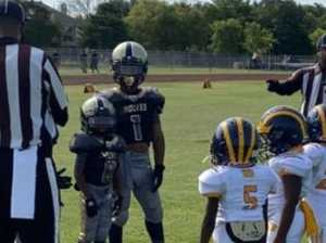 VIDEO: Enormous six-year-old is a football monster