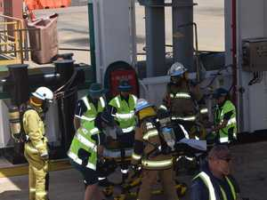PHOTOS: Emergency services respond to training exercise