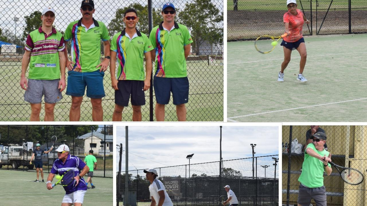 REGIONAL SPORT: Chinchilla Tennis Open Tournament - Saturday, August 19, 2020. Pic: Peta McEachern