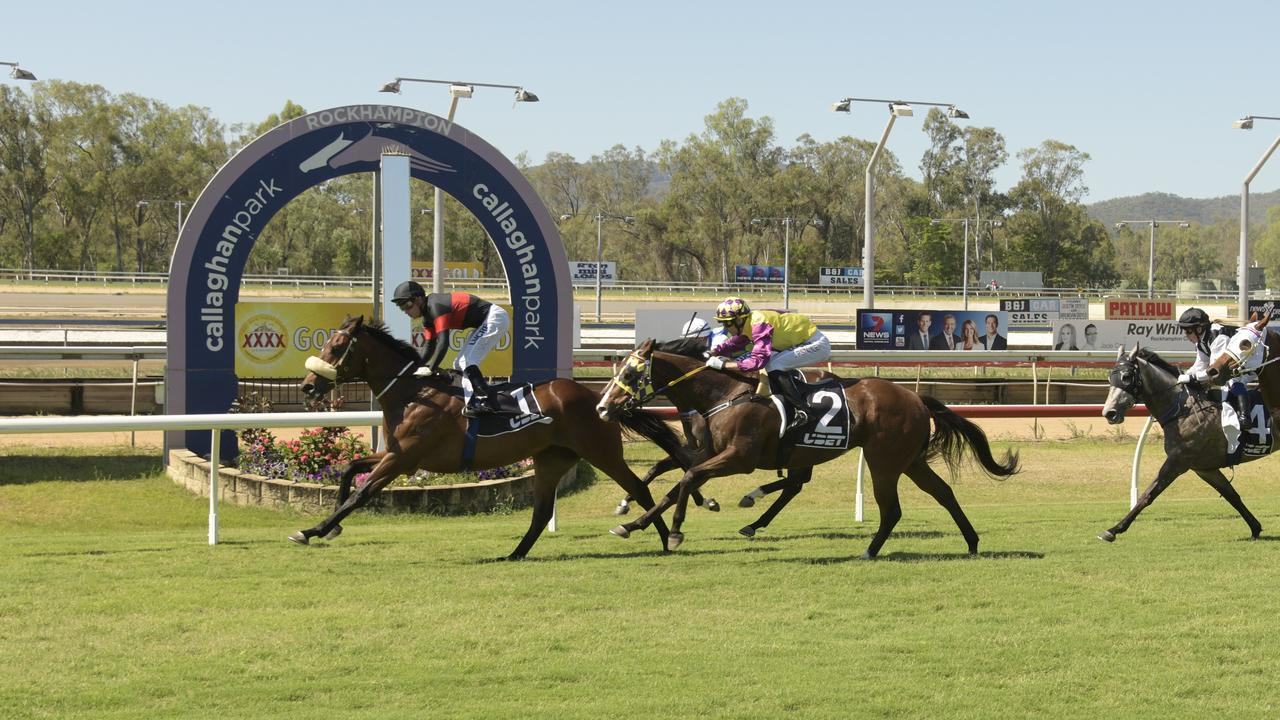 The Jared Wehlow trained Onemore Emotion wins at Callaghan Park.
