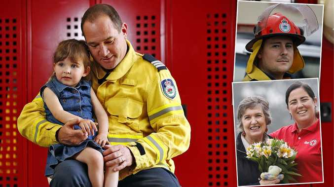 NSW honours 65,000 heroes for bushfire bravery