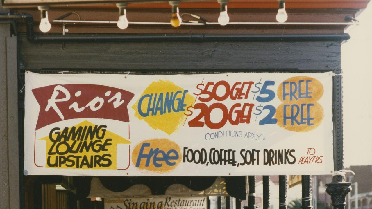 Rio's Gaming Lounge, Hindley Street, Adelaide, 1996