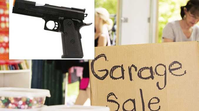 Garage sale guns trigger police investigation