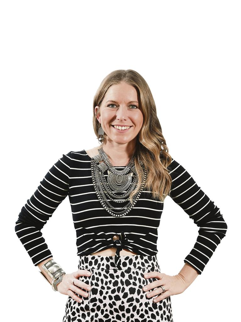 Jacinta Emms is the owner of The Full Feather, a fashion styling business based on the Sunshine Coast.