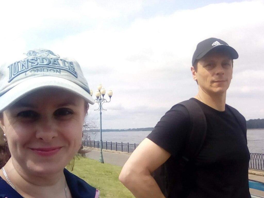 Valentina Saprunova and Vitaly Molchanov.