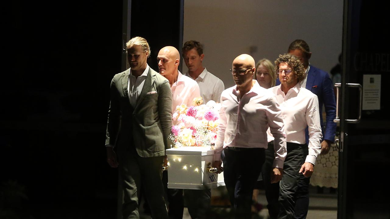 Jaimi Kenny Funeral at Gregson & Weight Funerals, Buderim. 19th September 2020 Buderim Picture by Richard Gosling