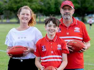 Lismore Swans kick goals for mental health group