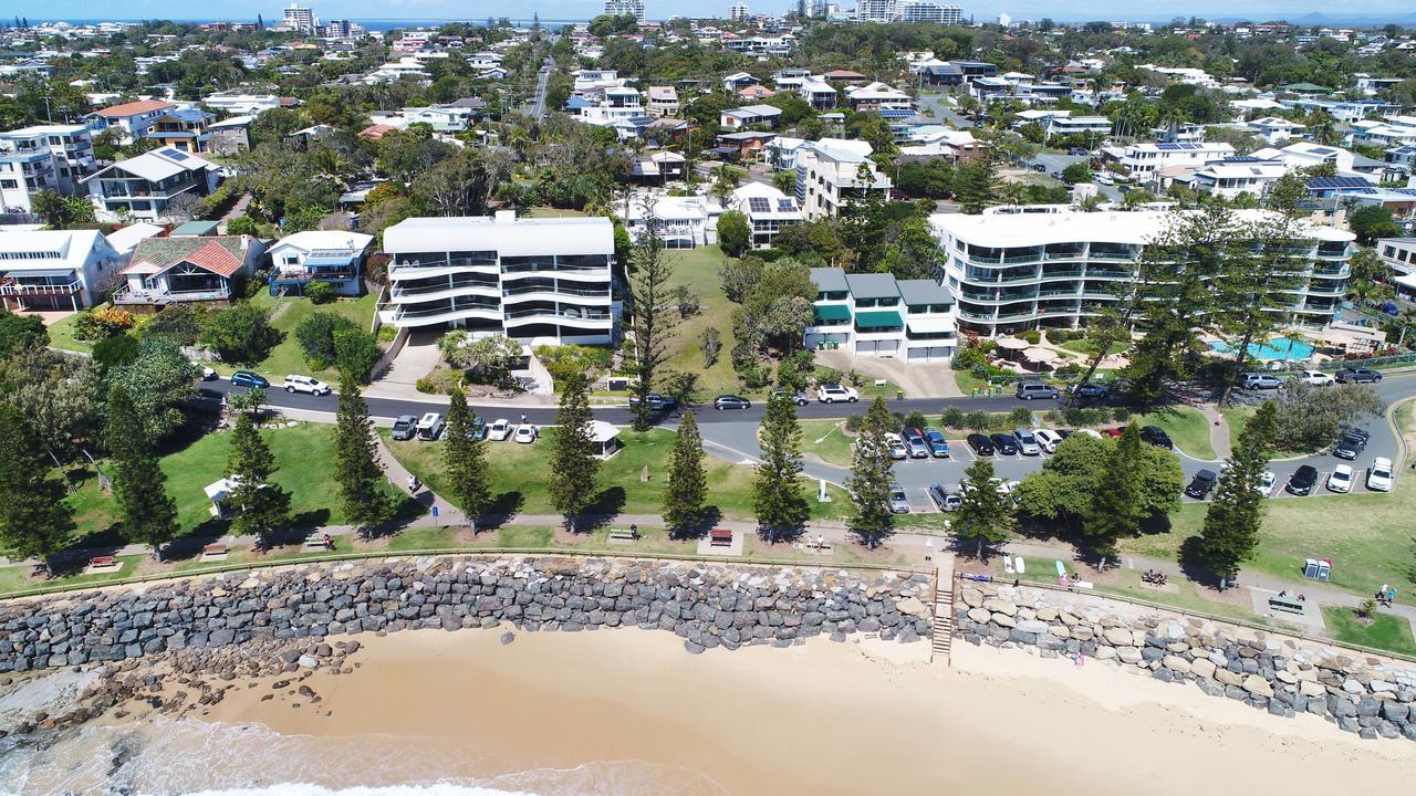 DRONE: Moffat Beach. Photo Patrick Woods / Sunshine Coast Daily.