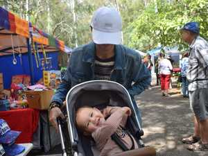 Huntah and Theo, 1, Gumz at the Rotary Charity