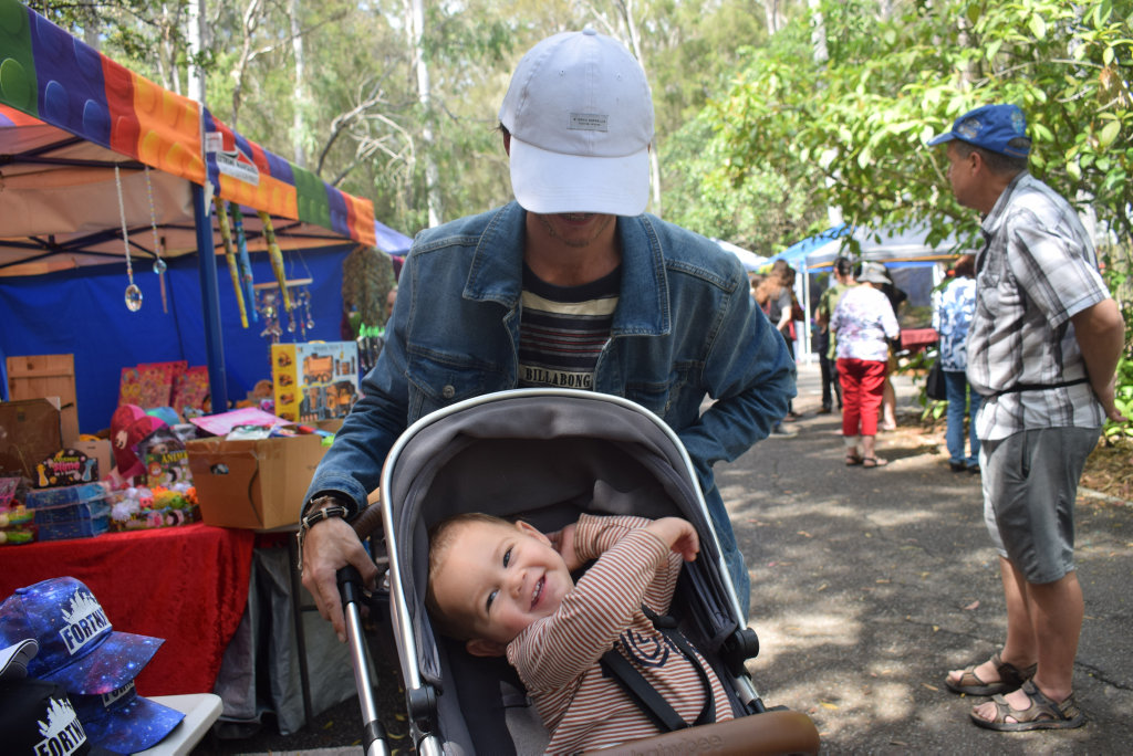 Image for sale: Huntah and Theo, 1, Gumz at the Rotary Charity Markets.