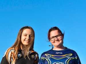 Natalie Crofts and Jennie Gibbons at Sunshine Coast