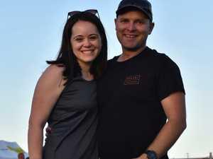 Kate and Nick Norman at Sunshine Coast Stadium's last