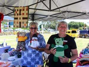 Fraser Coast Artlink stall holders Annette Kitchener
