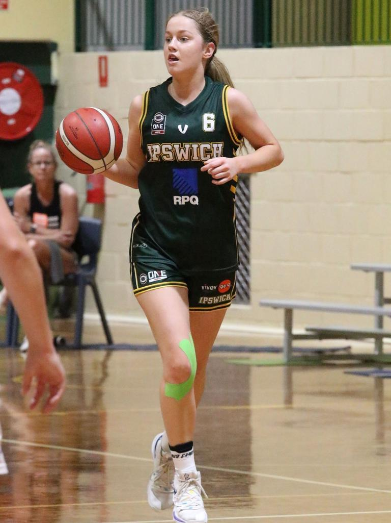 Ipswich Force basketballer Catherine Macgregor. Picture: Megan Low